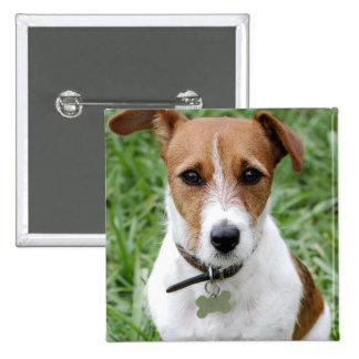 Botón de Jack Russell Terrier Pins