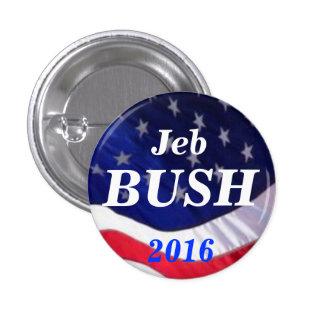 Botón de Jeb Bush 2016 Pin Redondo De 1 Pulgada