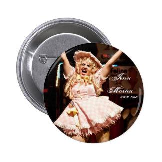 Botón de Jenn Martin (bebé Jenn) Pin Redondo De 2 Pulgadas