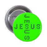 Botón de Jesús - cal Pin