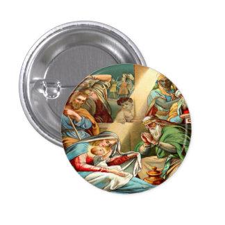 botón de Jesús del bebé Pin Redondo De 1 Pulgada