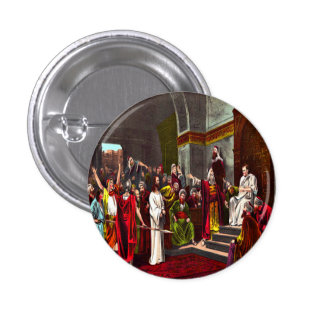 Botón de Jesús y de Pilate Pin