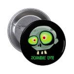 Botón de Jim del zombi Pin