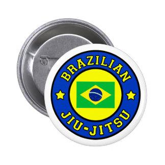 Botón de Jiu-Jitsu del brasilen@o Pin Redondo De 2 Pulgadas