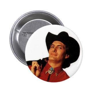 Botón de Joe Bob Pin Redondo De 2 Pulgadas