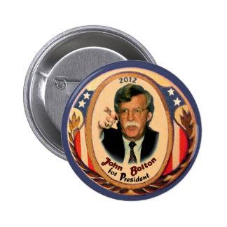 Botón de John Bolton 2012 Pins