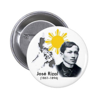 Botón de Jose Rizal Pins