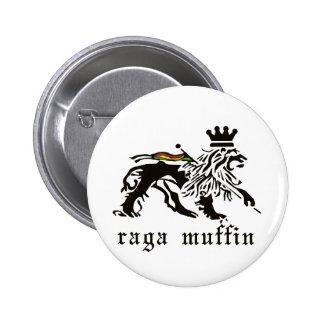 Botón de Judah del mollete de Raga Pin Redondo De 2 Pulgadas