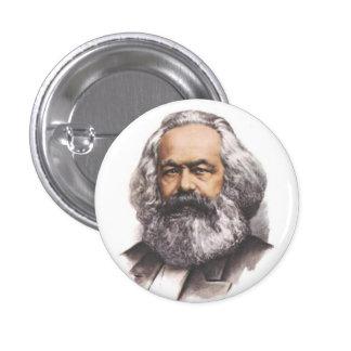 Botón de Karl Marx Pin Redondo De 1 Pulgada