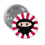 Botón de Kawaii Ninja Pin