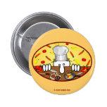 Botón de Kilroy del cocinero Pin