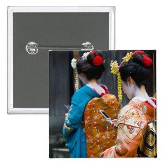 Botón de Kyoto Pin
