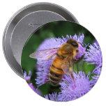 Botón de la abeja de la miel