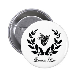 Botón de la abeja reina