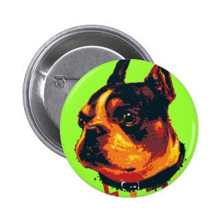 Botón de la acción de Boston Pin
