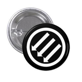 Botón de la acción del Anti-Racista Pin Redondo De 1 Pulgada