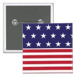Botón de la bandera americana