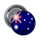 Botón de la bandera de Australia Pin