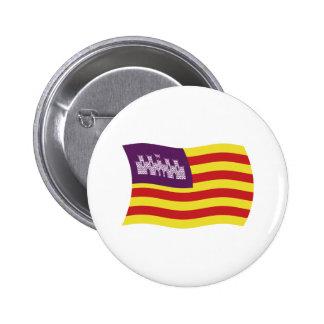 Botón de la bandera de Balearic Island