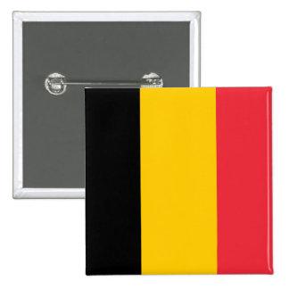 Botón de la bandera de Bélgica Pin