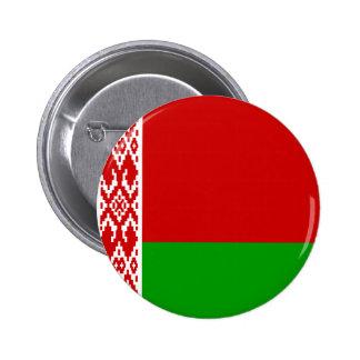 Botón de la bandera de Bielorrusia Pin Redondo De 2 Pulgadas