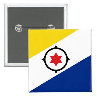 Botón de la bandera de Bonaire Pins