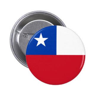 Botón de la bandera de Chile Pin