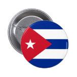 Botón de la bandera de Cuba