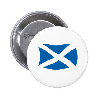 Botón de la bandera de Escocia Pin Redondo De 2 Pulgadas