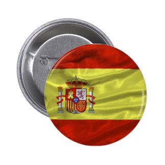Botón de la bandera de España Pin