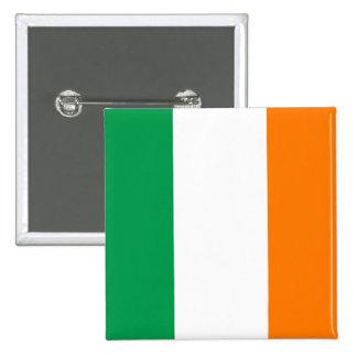 Botón de la bandera de Irlanda