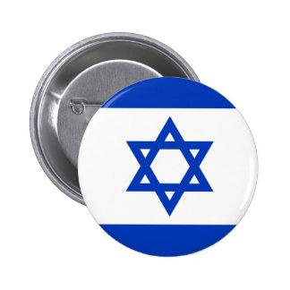 Botón de la bandera de Israel