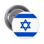 Botón de la bandera de Israel Pin