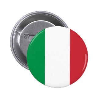 Botón de la bandera de Italia Pins