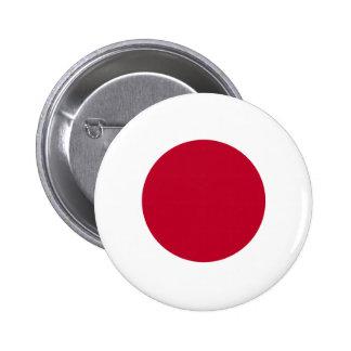 Botón de la bandera de Japón