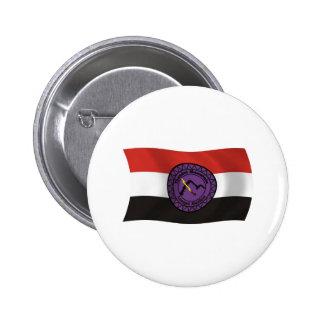 Botón de la bandera de la nación de Lenape de la m Pin