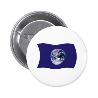 Botón de la bandera de la tierra