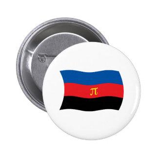 Botón de la bandera de Polyamory Pin Redondo De 2 Pulgadas