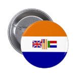 Botón de la bandera de Suráfrica Pin