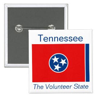 Botón de la bandera de Tennesseean