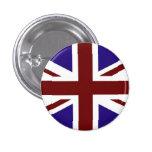 Botón de la bandera de unión pins