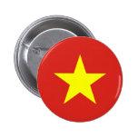 Botón de la bandera de Vietnam Pin