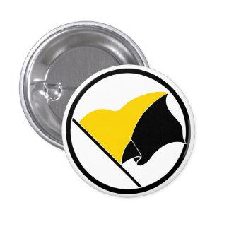 Botón de la bandera del Anarcho-Capitalista Pin Redondo De 1 Pulgada