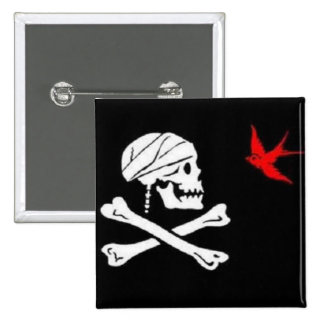 Botón de la bandera del pirata de Jack Sparrow