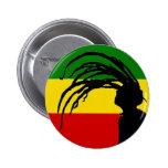 botón de la bandera del rasta del fife de johnny pins