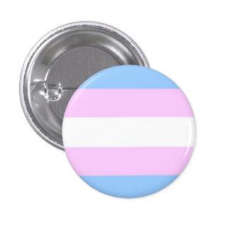 Botón de la bandera del transexual pin redondo de 1 pulgada