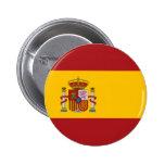 Botón de la bandera nacional de España Pin