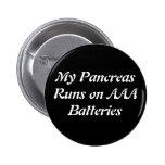 Botón de la batería pins