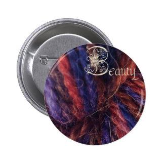 botón de la belleza madrastra malvada pin