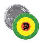 Botón de la blanco de la MOD de Jamaica Pin